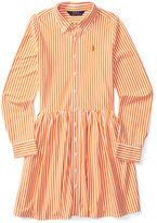 Ralph Lauren Striped Interlock Shirtdress, Big Girls (7-16)