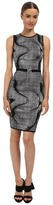 Versace Graphic Print Knit Dress