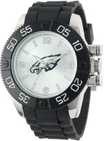 Game Time Men's NFL-BEA-PHI Beast Round Analog Watch
