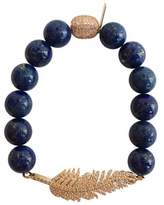Electric Picks Float Lapis Bracelet