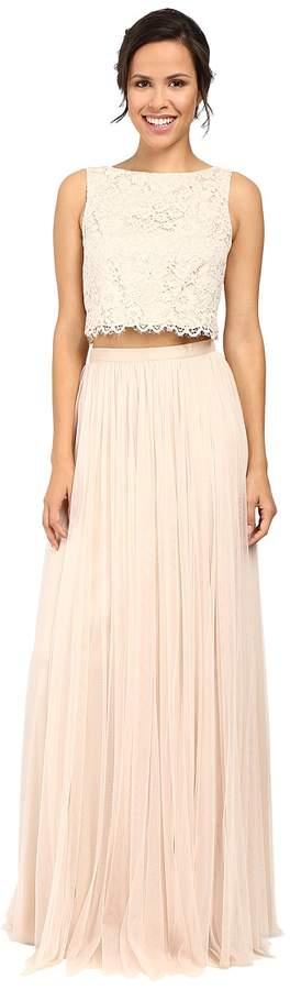 Donna Morgan Alexis - Lace Top Skirt Women's Dress