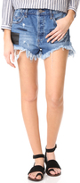 One Teaspoon Salty Sailor Le Wolves Shorts