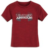 Under Armour Boys' Big Logo Hybrid Twist Tee - Sizes 4-7