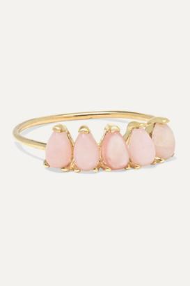 Loren Stewart Gold Jade Ring - 5