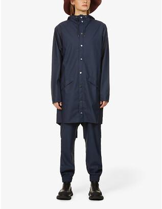 Rains Hooded shell jacket