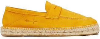 Manebi Hamptons Suede Espadrille Loafers