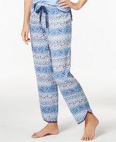 Alfani Mosaic-Print Woven Pajama Pants, Created for Macy's