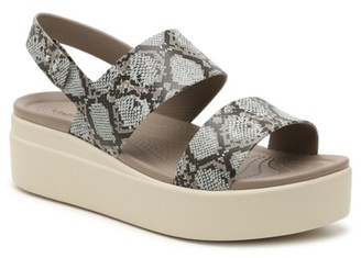 Crocs Brooklyn Wedge Sandal - Women's