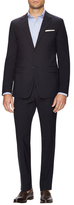 Prada Wool Solid Notch Lapel Suit