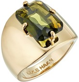Cole Haan Large Emerald Stone Ring