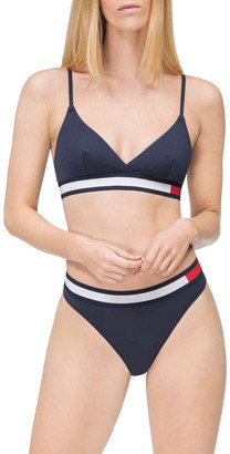 Tommy Hilfiger Colour-Blocked Triangle Bra