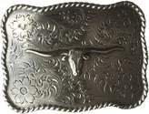 Nocona Men's Scalop Square Steer Buckle