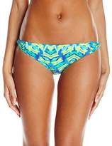 CoCo Reef Women's Amazon Skinny Dip Bikini Bottom