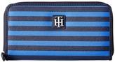 Tommy Hilfiger Th Serif Zip Around Wallet