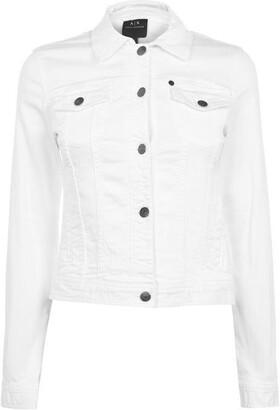 Armani Exchange Armani Denim Trucker Jacket Ladies