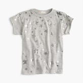 J.Crew Girls' metallic star T-shirt