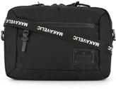 Makavelic bi-layer crossbody pouch bag