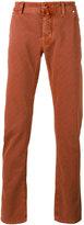 Jacob Cohen checked slim trousers - men - Cotton/Spandex/Elastane - 32