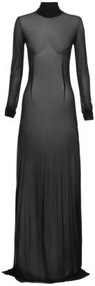 Maticevski Responsive Mesh Slip Dress