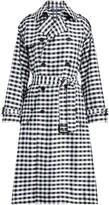 Polo Ralph Lauren Gingham Silk Trench Coat