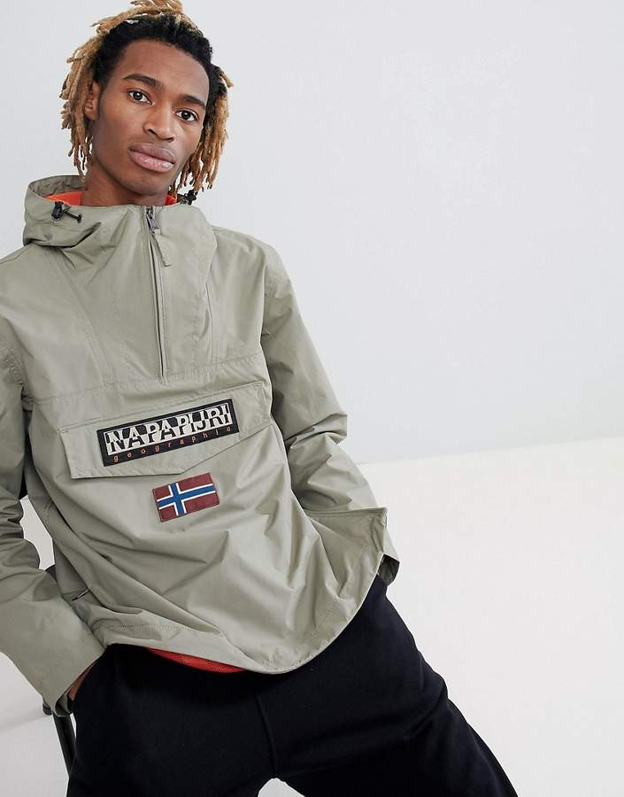 Napapijri Rainforest Jacket In Khaki