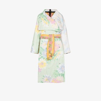 Rave Review Maggan upcycled floral duvet coat
