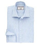 Thomas Pink Perrin Stripe Slim Fit Button Cuff Shirt