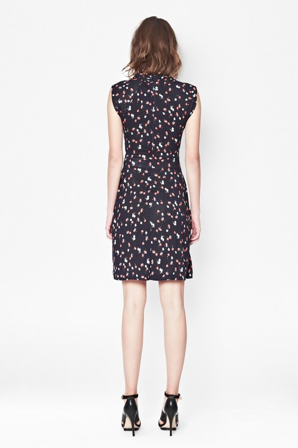 French Connection Mini Belle Wrap Dress