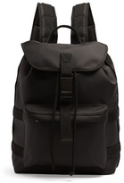 A.p.c. Canvas-trimmed Nylon Backpack