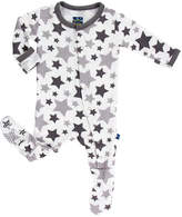 Kickee Pants Star Print Footie