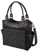 Petunia Pickle Bottom Petunia City Carryall - Black Embossed Central Park Noth