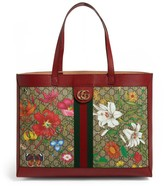 Gucci Gg Flora Ophidia Tote Bag