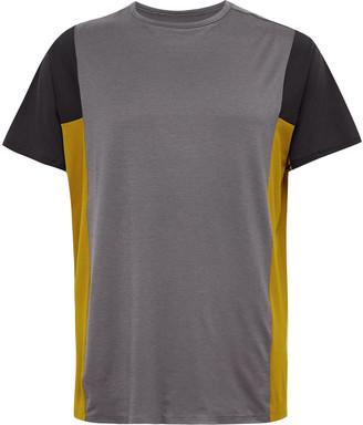Lululemon + Robert Geller Take The Moment Colour-Block Mesh T-Shirt