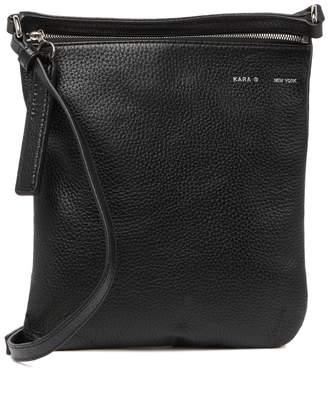 Kara Pebble Leather Shoulder Bag