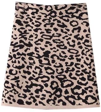 Goodnight Macaroon 'Nima' Knitted Leopard Mini Skirt (3 Colors)
