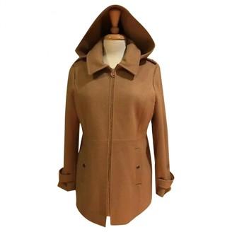 Michael Kors Yellow Wool Coats