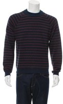 Patrik Ervell Striped Crew Neck Sweater
