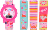 Peppa Pig Girls Multicolor Strap Watch-Ppg3013jc