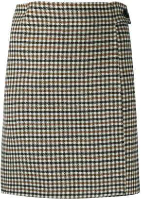 P.A.R.O.S.H. Check-Pattern Mini Skirt