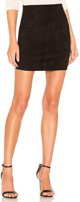 Sprwmn Suede Mini Skirt