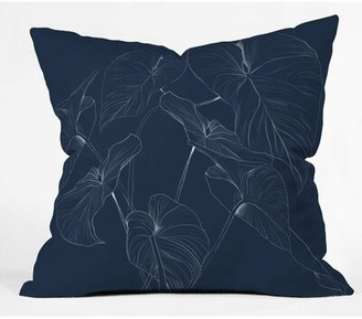 """East Urban Home Gabriela Fuente Indoor/Outdoor Floral Throw Pillow Size: 18"""" x 18"""""""