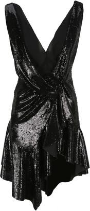 Philosophy di Lorenzo Serafini Philosophy Sequin Plunge Mini Dress
