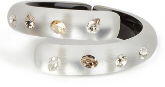 Alexis Bittar Future Antiquity Crystal Bypass Bangle