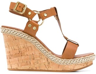 Carvela Karolina 100mm wedge sandals