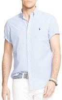 Polo Ralph Lauren Big and Tall Short Sleeve Stripe Seersucker Shirt