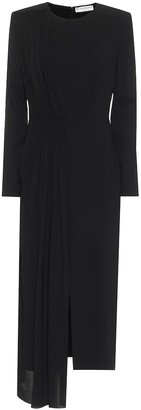 Givenchy Stretch-crepe midi dress