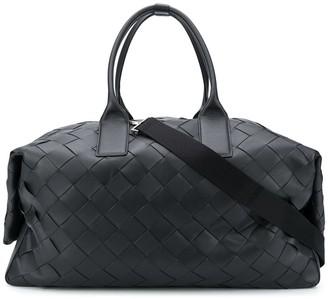 Bottega Veneta maxi Intrecciato leather duffle bag