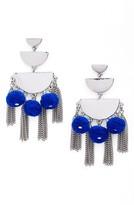 Rebecca Minkoff Women's Triple Tier Chandelier Earrings