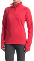 Columbia Titianium Northern Ground Fleece Shirt - Zip Neck, Long Sleeve (For Women)