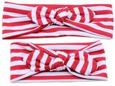 TONSEE Adults And Baby Keep Warm Elastic Cloth Bowknot Headband